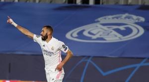 Benzema is back. EFE