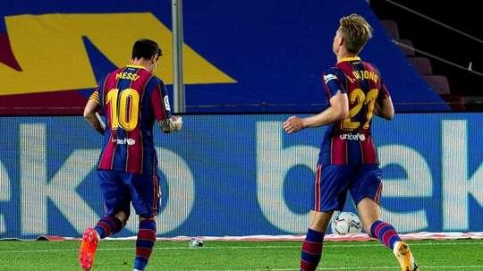 Le groupe du Barça pour affronter Cornella en Coupe du Roi. EFE