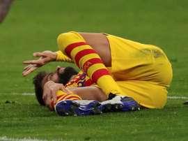 Opération du genou pour Gerard Piqué ?. afp