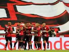 Paranaense asegura estar listo para medirse a River Plate. EFE