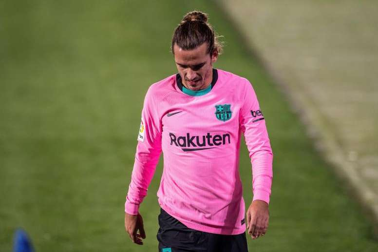 Antoine Griezmann has suffered from lots of criticism. EFE