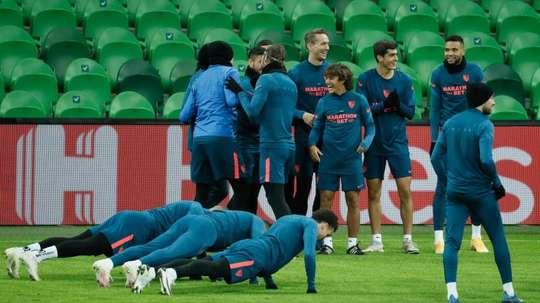 El Sevilla ya pisó la casa del Krasnodar. EFE