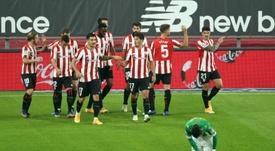 El Athletic goleó al Betis. EFE
