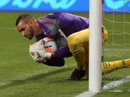 Palmeiras, con 21 bajas por COVID-19, busca armarse para viajar a Ecuador. EFE