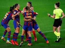 El Barça hizo historia al meterse en la final de la Champions 2019. EFE