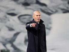 Zidane encara con varias bajas el duelo ante el Inter. EFE