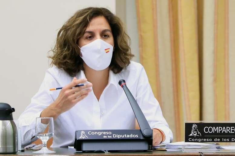 La secretaria de Estado para el Deporte, Irene Lozano. EFE/FERNANDO ALVARADO/Archivo