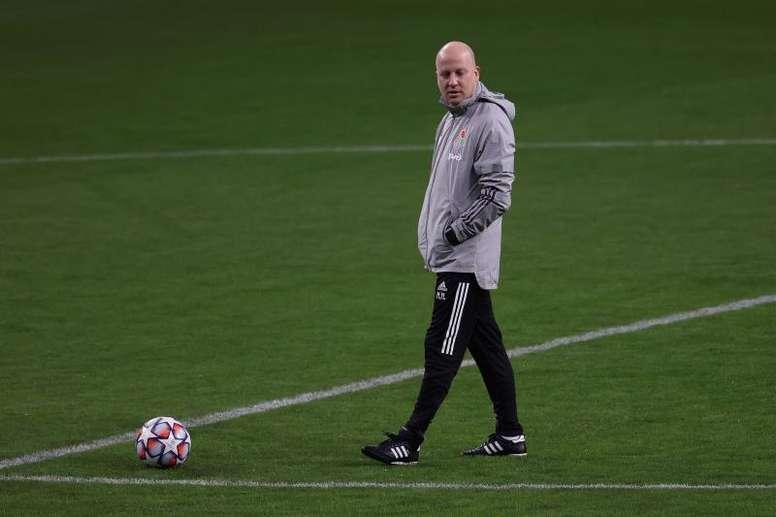 Nikolic destacó la disciplina y energía del Lokomotiv de Moscú. EFE/Juanjo Martín