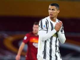 Cristiano fica fora da convocatória contra o Benevento. EFE/EPA/FEDERICO PROIETTI