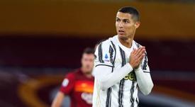 Cristiano Ronaldo absent du groupe face à Benevento. afp