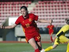 Eva Navarro, más que orgullosa por la llamada de la Selección. EFE/Lavandeira jr/Archivo