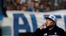 Diego Armando Maradona falleció. EFE