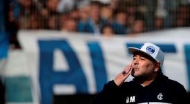 Revelado o resultado da autopsia de Maradona. EFE/Demian Alday