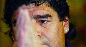 Maradona, una salud deteriorada. EFE