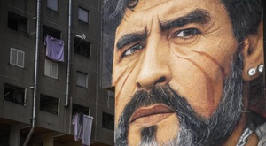 Berbatov ricorda Maradona. EFE