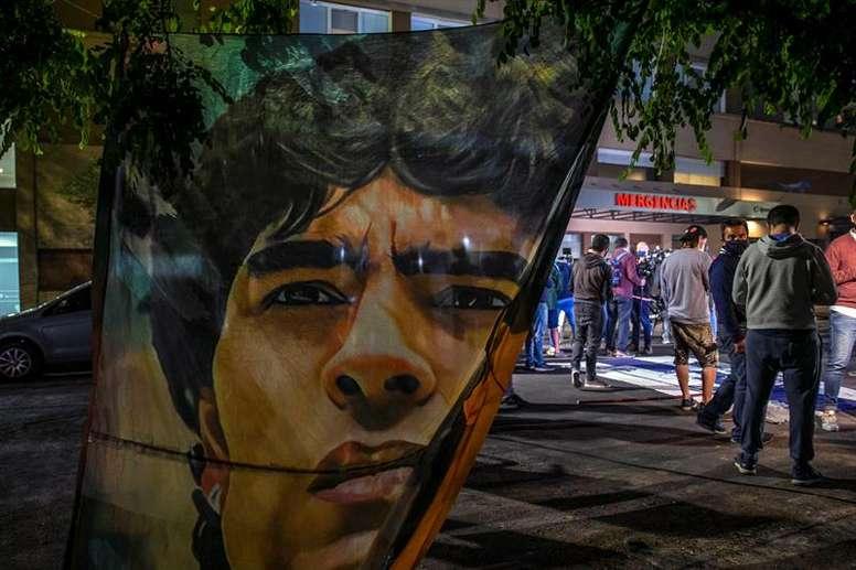 Maradona murió de causas naturales y sin síntomas de violencia. EFE/Archivo