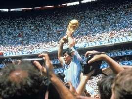 Según Maradona, este fue el momento más sublime de su carrera. EFE