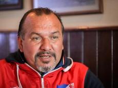 Rubén Sosa, otro astro como Maradona. EFE