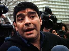 Maradona falleció en Buenos Aires. EFE