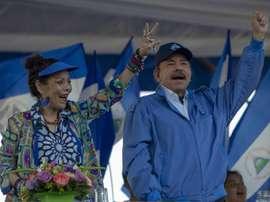 Nicaragua y su dedicatoria a Maradona en el día de su fallecimiento. EFE/Archivo