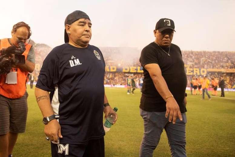 El fútbol puertorriqueño se une al dolor de la muerte de Maradona. EFE