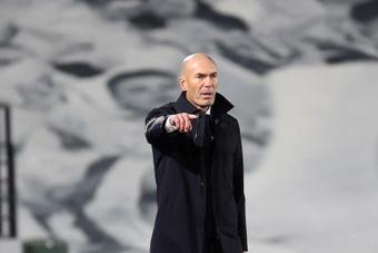 Le Real satisfait de Zidane. EFE