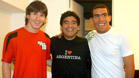 Tevez will not play the upcoming game. EFE
