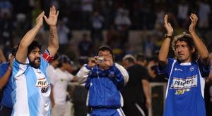 Maradona falleció. EFE