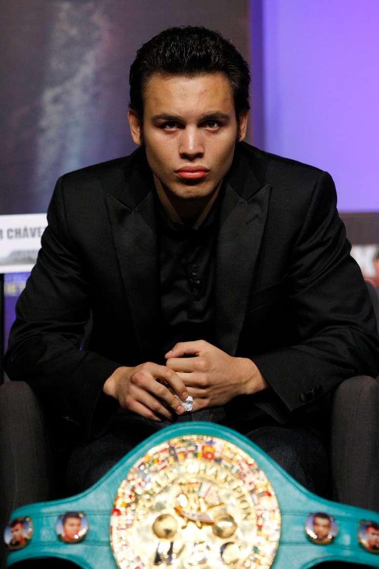Fotografía de archivo del excampeón mundial peso medio de boxeo, Julio César Chávez Jr. EFE/Alex Cruz/Archivo