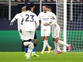 Hazard se reencontró con el gol. EFE