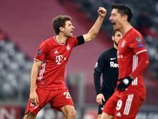 El Bayern ya está en octavos. EFE