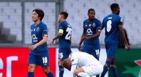 El Oporto pone pie y medio en octavos a costa del peor de Champions. EFE/Guillaume Horcajuelo