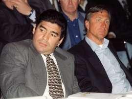 Peñarol y Maradona, un amor inconcluso que pudo hacer historia. EFE