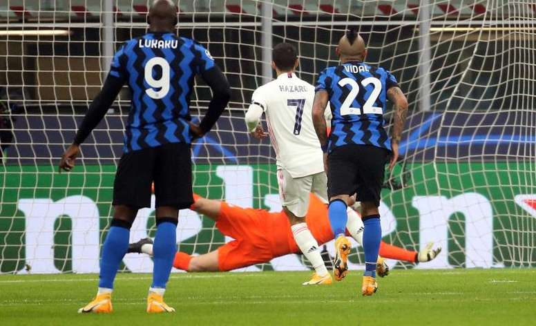Real Madrid were far too good for Inter Milan. EFE