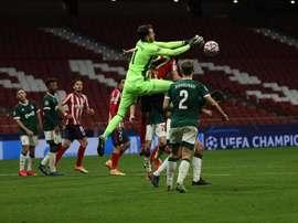 El Atlético, negado: 20 tiros, cero goles. EFE/Juanjo Martín