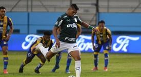 Cada vez mais protagonista no Palmeiras, Rony volta a ser decisivo na Copa do Brasil. EFE