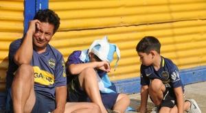 La AFA decreta siete días de luto por la muerte de Maradona. EFE/Enrique García Medina