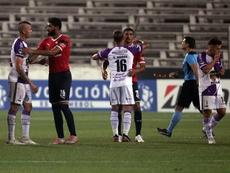 Independiente pinta la serie de rojo. EFE