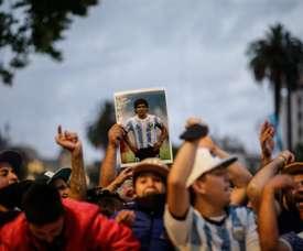 Maradona falleció a los 60 años. EFE