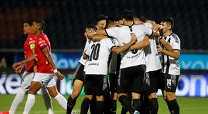 Libertad anotó el último gol en el 96'. EFE