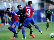 Betis y Eibar se han enfrentado en 20 ocasiones previas. EFE/Archivo