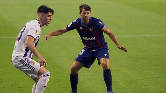 El Valladolid recibe al Levante para dar comienzo a la jornada 11. EFE/Archivo