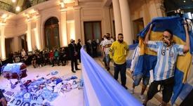 La Fiscalía contradice a Morla: la ambulancia de Maradona tardó 12 minutos en llegar. EFE