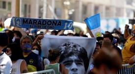 La despedida de Diego Maradona, en directo. EFE