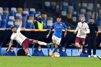 Il Napoli vuole rinnovare Matteo Politano. EFE