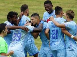 Motagua pasó por encima de Honduras Progreso por un 5-0. EFE