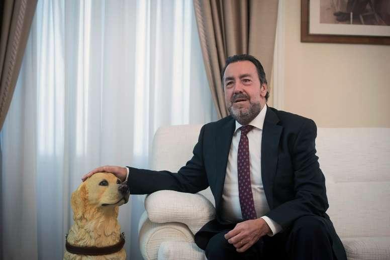 Miguel Carballeda, presidente del Comité Paralímpico Español desde 2004. EFE/Fernando Villar/Archivo