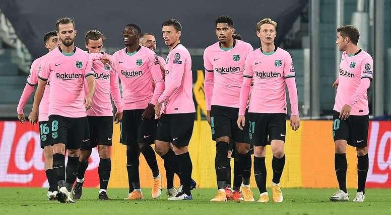 Les compos probables du match de Liga entre le Barça et Osasuna. efe
