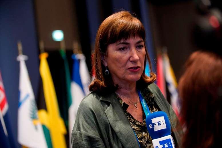 La española Marisol Casado. EFE/ Christian Ugarte/Archivo