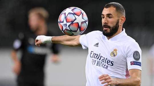 Benzema se prepara para voltar contra o Shakhtar. EFE